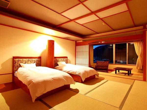 ツインベッド和室/一例