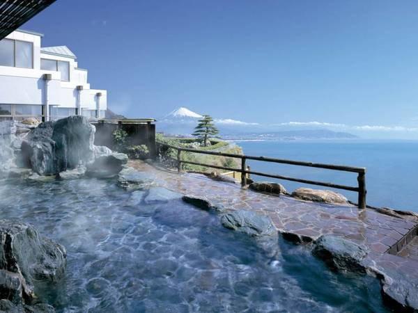 【ホテルアンビア松風閣】全客室オーシャンビュー!お部屋&露天風呂から望む富士山と駿河湾大パノラマ