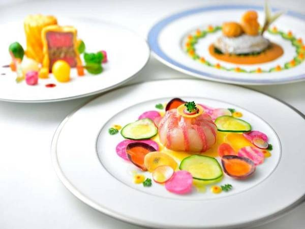季節替りのフランス料理ライトディナー/一例