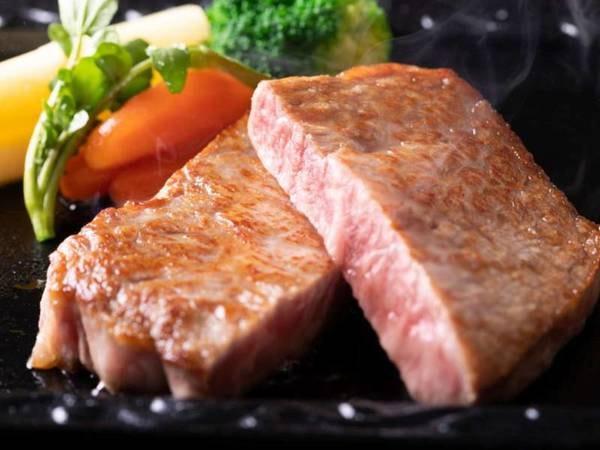 【選べるメインプラン/例】①おおいた和牛ステーキ