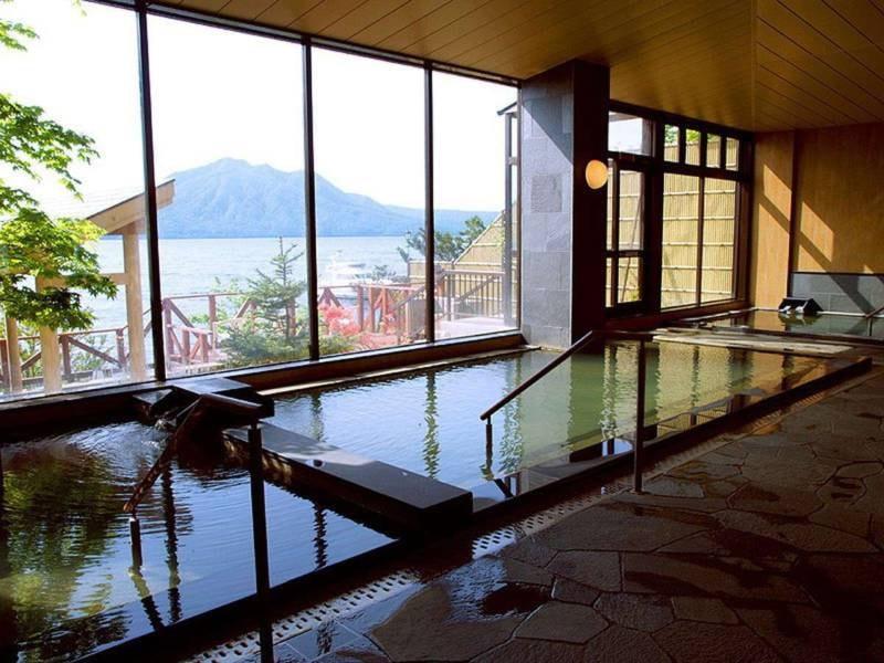 お風呂・温泉情報|丸駒温泉旅館【ゆこゆこ】