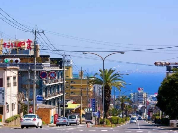 当館表通りから見る別府湾(イメージ画像)
