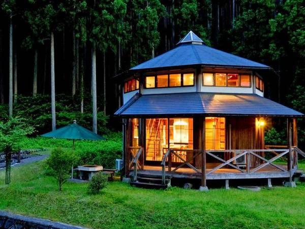 【ひよしフォレストリゾート山の家】天然温泉も完備した、大自然の恵み豊かなお宿。