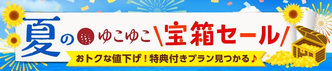 夏の感謝祭セール2021!お得な値下げや嬉しい特典付プラン!